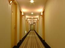 客室階 廊下