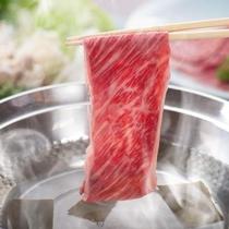 牛しゃぶしゃぶセット(ケータリング食一例)