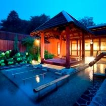 本館にある温泉大露天風呂
