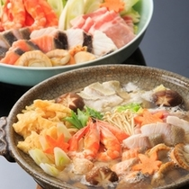 【お部屋食】10月〜4月下旬限定!海鮮鍋セット