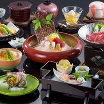 スタンダード:伊豆自慢の魚介を活かした、彩り鮮やかな和懐石コース料理
