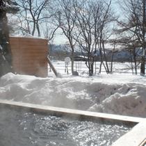 露天風呂〜雪景色〜