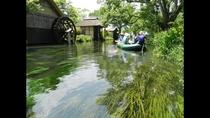 ■蓼川 クリアボート体験■