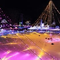 【安曇野の里~Winter Illumination~】