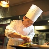 洋食料理長:太田の業が織りなす世界をお愉しみ下さい。
