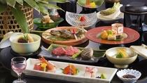 ■日本海と信州の恵み会席■