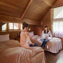 コテージ寝室イメージ