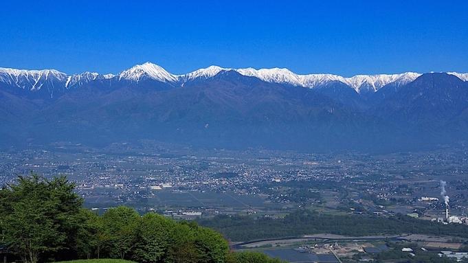 【安曇野絶景ツアー】早起きした人だけの長峰山山頂からの眺望&淹れたて珈琲付き 2食付