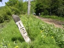 廃線跡標識