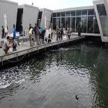 アクアマリン施設内釣り堀