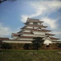 会津の鶴ヶ城