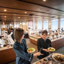 食事 レストラン サンピア 店内イメージ