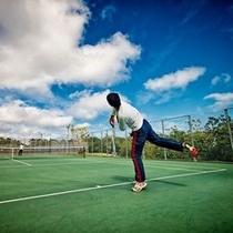 スポーツ棟 ペアーレ テニスコート