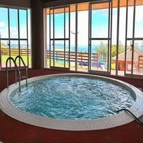 スポーツ棟 屋内温水プール内ジャグジー