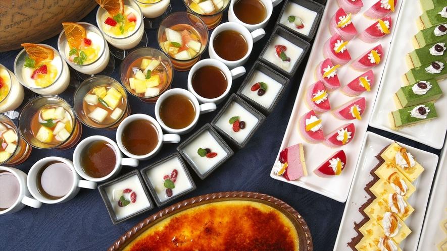 食事 2Fレストランサンピア デザートイメージ