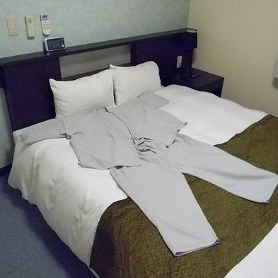 【朝食付き】1名1室利用 大柄な方も安心です♪LLサイズの館内着セット♪