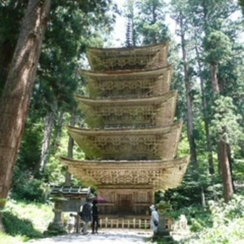 国宝五重塔