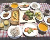 夏の夕食例