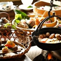 【料理】季節の懐石 秋集合