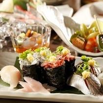 【地魚寿司 一例】