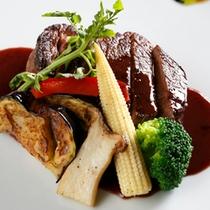 【料理】夕食肉料理