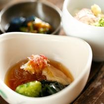 【料理】夕食寄り夏