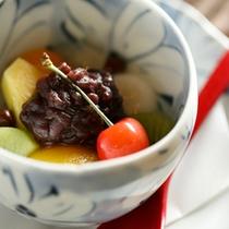 【料理】夕食デザート夏