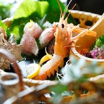【料理】季節の懐石 お造り