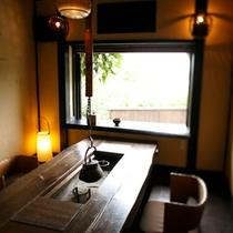 【施設】個室食事処