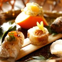 【料理】季節の懐石 前菜