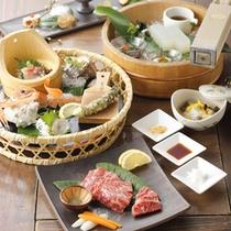 【季節の懐石料理 一例】