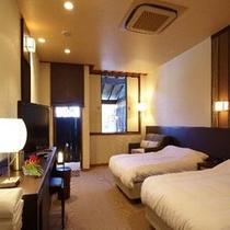 【洋室タイプ】客室&寝室イメージ