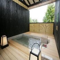 【和洋室タイプA】客室露天風呂イメージ