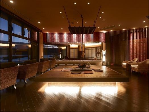 【近江牛しゃぶしゃぶ★★贅沢】半露天風呂付客室でごゆっくり