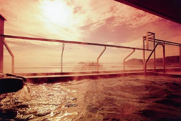 【近江牛すきやき★★贅沢ランク】半露天風呂付客室でごゆっくり