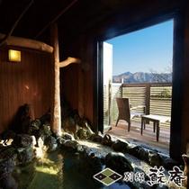 【古民家風】〜湧水(YUSUI)〜客室露天風呂