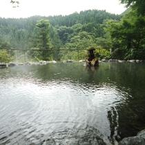 野天風呂(夏)