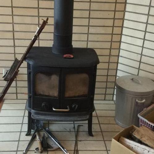 冬は暖かい暖炉