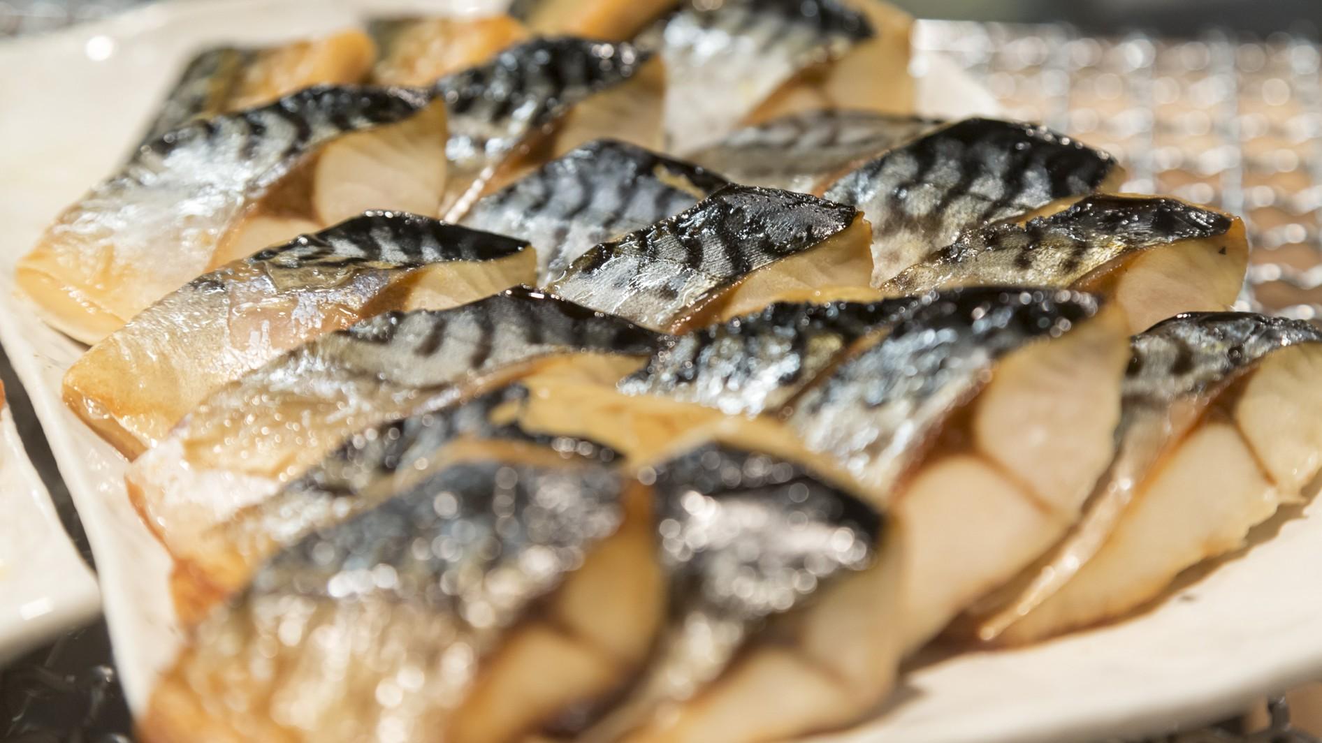 焼き魚※種類は日替わりでご用意しております。