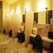 ■男性大浴場 洗い場