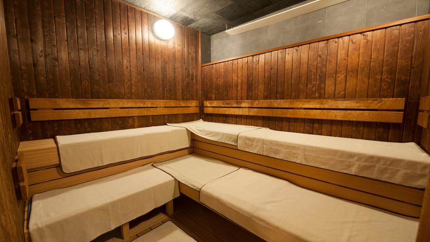 ■男性大浴場サウナ(深夜1:00~5:00は休止)