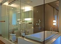 1BDR デラックス バスルームの一例