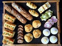 【ご朝食】風来荘の自家製天然酵母パン