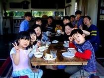 風来荘のお客様♪家族旅行〜!