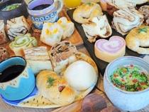 【ご朝食】見た目もかわいく、味もおいしいとお客様に好評です♪