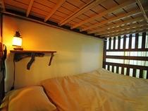 【2段ベッド】ベッド内も過ごしやすく、ぐっすりと眠れます☆