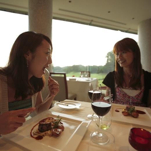 ■那須テラスでの食事風景