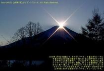 冬のダイヤモンド富士