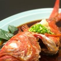 稲取名物「金目鯛の姿煮」
