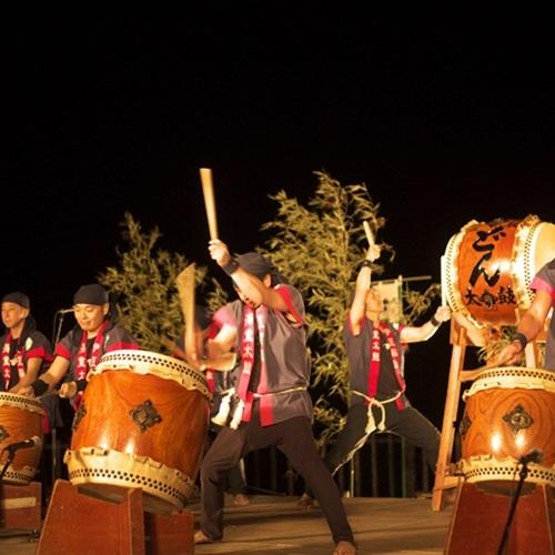 【6月上旬】『どんつく祭り』お祭を盛り上げる和太鼓の演技
